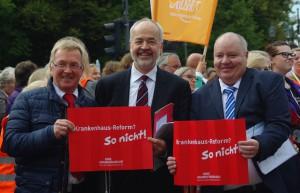 Mehr als 10.000 Menschen protestierten in Berlin gegen geplante Krankenhausreform
